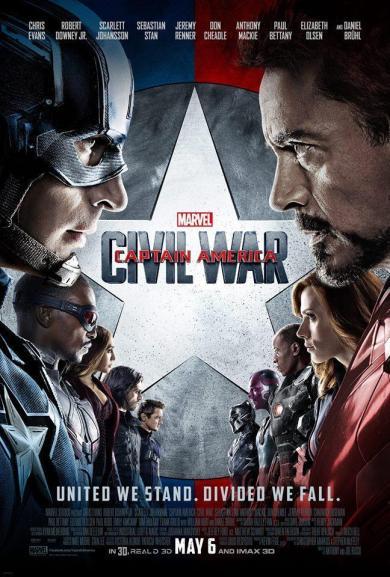 capitán América Civil War cartel