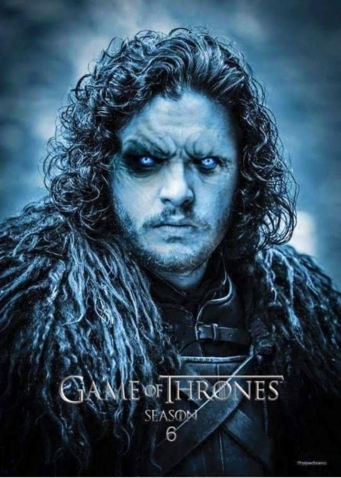 sexta temporada juego de tronos john snow