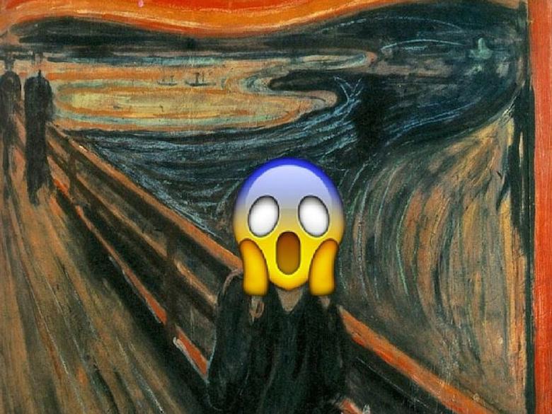 Emoji el grito
