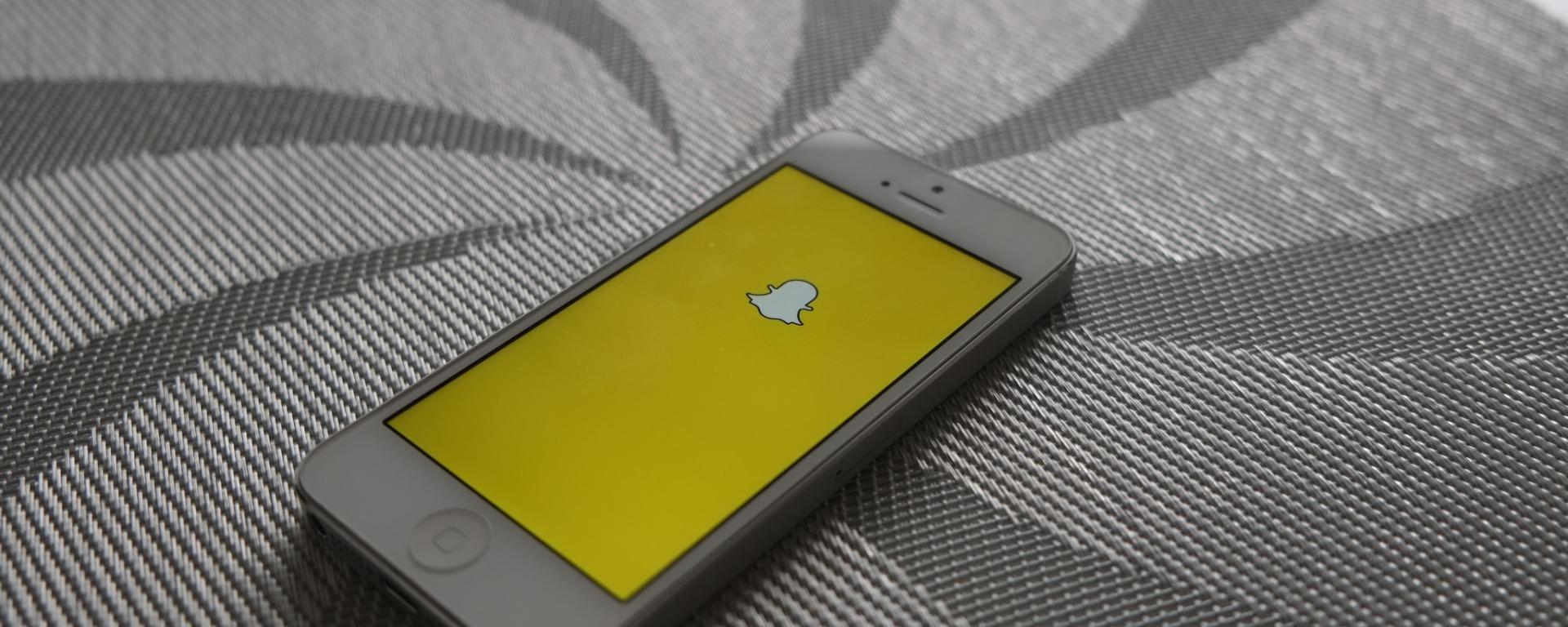 Snapchat en el móvil