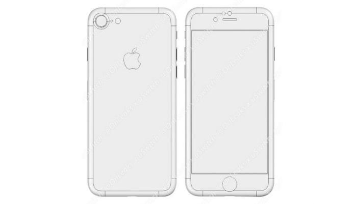 Presuntas dimensiones del iPhone 7 filtradas por uswitch