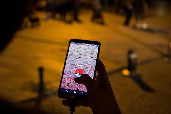 Pokemon GO game in Istanbul