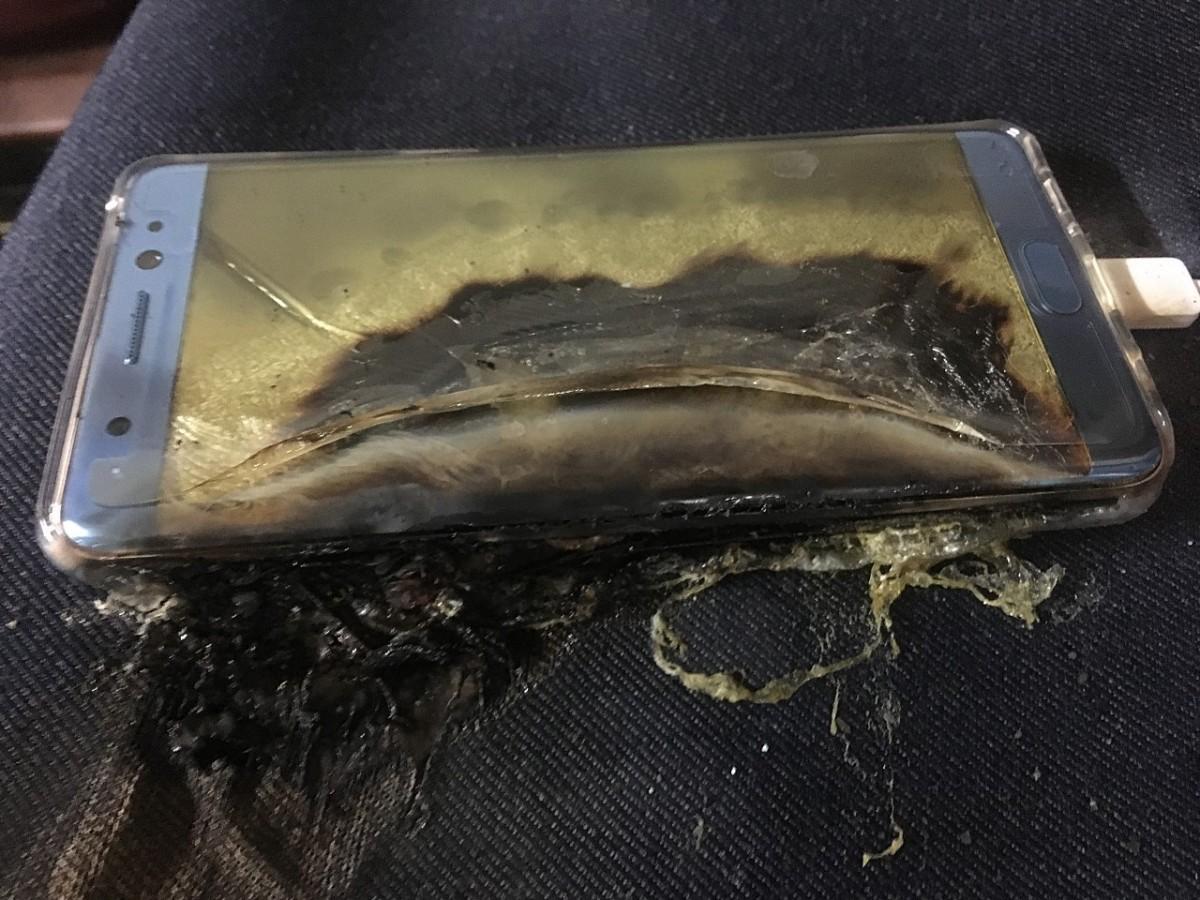 Graves riesgos también con Samsung Galaxy S7 Edge. Vídeo