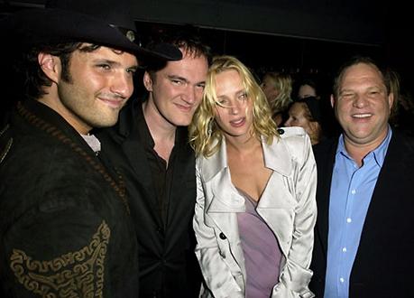 Uma Thurman estalla contra Weinstein yTarantino