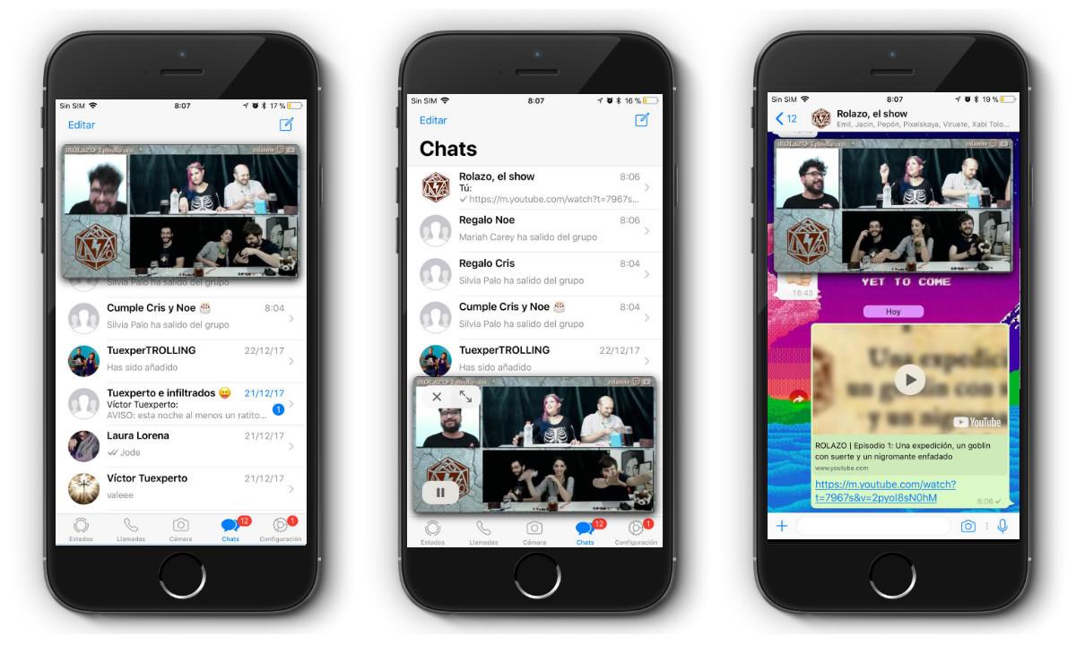Como ver vídeos de Facebook en WhatsApp. NUEVO
