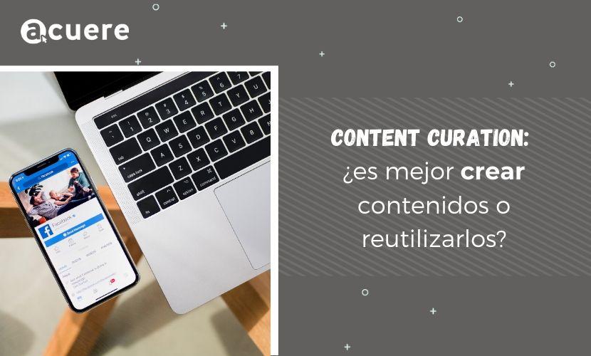 reutilizar o crear contenidos